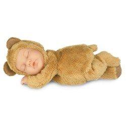 Muñeca Anne Geddes - Bebé Oso marrón caramelo