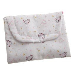 Antonio Juan doll Complements 40-42 cm - Changing mat with unicorns