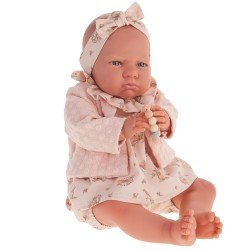 "Antonio Juan doll 52 cm - ""Mi primer Reborn"" Berta with salmon jacket"