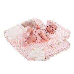 Antonio Juan - Newborn doll girl with fabric baby changer