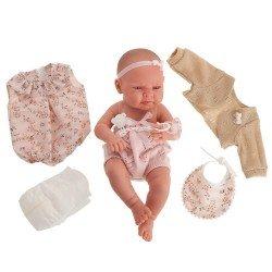 Antonio Juan doll 42 cm - Newborn Lea trousseau