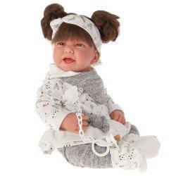 Antonio Juan doll 40 cm - Born Carla grey