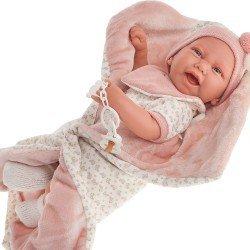 Antonio Juan doll 40 cm - Born Carla blanket