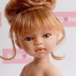 Antonio Juan doll 33 cm - Emily red haired with bun without clothes