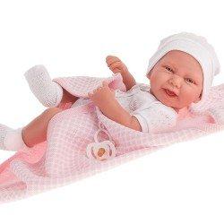Antonio Juan doll 42 cm - Newborn girl Carla with bath cape