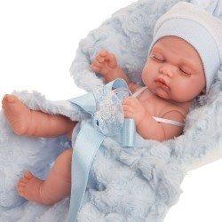 Antonio Juan doll 26 cm - Luni with blue blanket