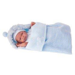 Antonio Juan - Pitu boy doll with sleeping-bag