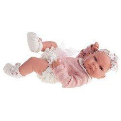 Antonio Juan - Newborn girl Nica doll with panties