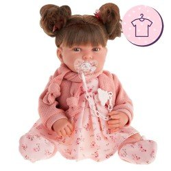 Antonio Juan doll Outfit 40-42 cm - Pipa with pigtails Outfit