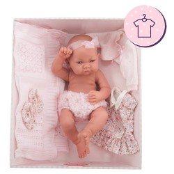 Antonio Juan doll Outfit 40-42 cm - Newborn Nica trousseau dress