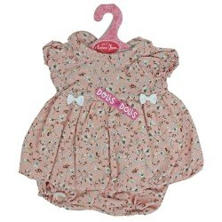 Antonio Juan doll Outfit 40-42 cm - Pink flower dress and matching knickers