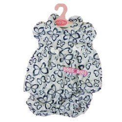 Antonio Juan doll Outfit 40-42 cm - Butterflies printed outfit