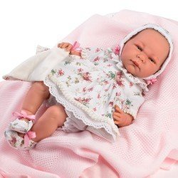 Así doll 46 cm - Olivia, limited series Reborn type doll