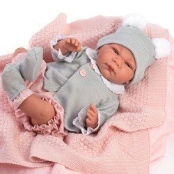 Así doll 46 cm - Raquel, limited series Reborn type doll
