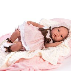 Así doll 46 cm - Tamara, limited series Reborn type doll