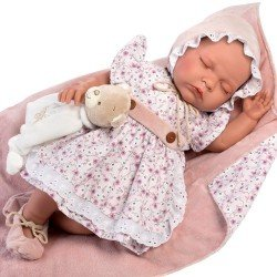 Así doll 46 cm - Alejandra, limited series Reborn type doll