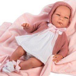 Así doll 46 cm - Candela, limited series Reborn type doll