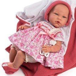 Así doll 46 cm - Gema, limited series Reborn type doll