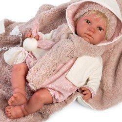 Así doll 46 cm - Icíar Real Reborn doll with hair