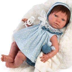 Así doll 46 cm - Judit Real Reborn doll with hair