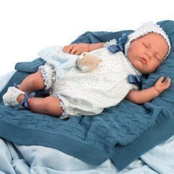 Así doll 46 cm - Nacho, limited series Reborn type doll