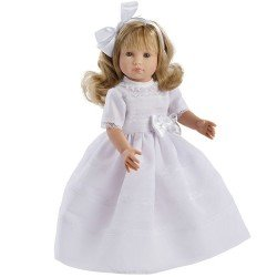 Así doll 40 cm - Nelly blond Communion with bow