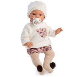 Así doll 36 cm - Koke with dragonfly bloomers and beige sweater set