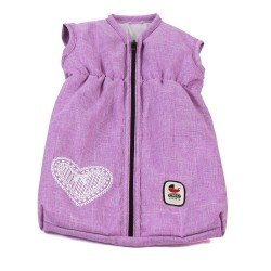 Sleeping bag for dolls to 55 cm - Bayer Chic 2000 - Lilac