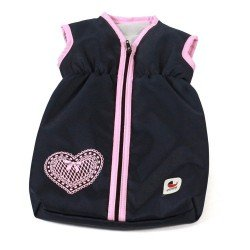 Sleeping bag for dolls to 55 cm - Bayer Chic 2000 - Navy