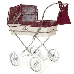 Bordeaux rain cover for Bebelux doll pram