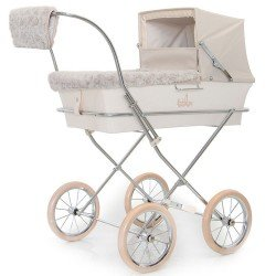 Beige winter kit for Bebelux doll pram