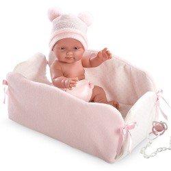 Llorens doll 26 cm - Bebita with changing mat