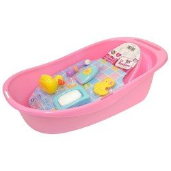 Accessories for dolls Berenguer - Bathtub with 5 accessories