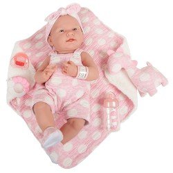 Berenguer Boutique doll 38 cm - 18063 La newborn (girl)