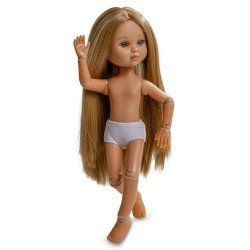 Berjuan doll 35 cm - Luxury Dolls - Eva articulated without clothes