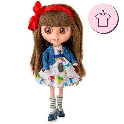 Berjuán doll Outfit 32 cm - The Biggers - Abba Lingg dress