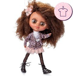 Outfit for Berjuán doll 32 cm - The Biggers - Jollie Bonnaire dress