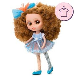 Outfit for Berjuán doll 32 cm - The Biggers - Zoe Davon dress