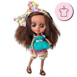 Outfit for Berjuán doll 32 cm - The Biggers - Martina Jiménez dress