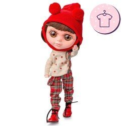 Outfit for Berjuán doll 32 cm - The Biggers - Molly Doig dress
