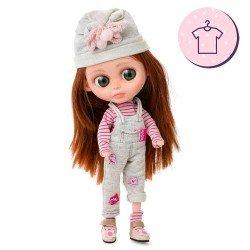 Outfit for Berjuán doll 32 cm - The Biggers - Sailes Blunn dress