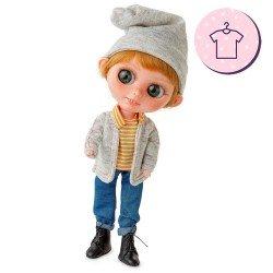 Outfit for Berjuán doll 32 cm - The Biggers - Trevor Flynn dress