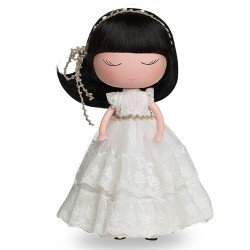 Berjuan doll 32 cm - Anekke - With Communion white outfit