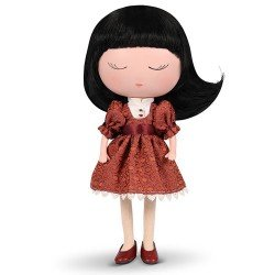 Berjuan doll 32 cm - Anekke - Sweet with red outfit