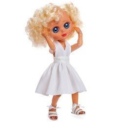Berjuan doll 35 cm - Luxury Dolls - The Biggers articulated - Marilyn