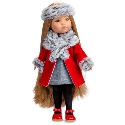 Berjuan doll 35 cm - Boutique dolls - Fashion Girl blonde with long hair