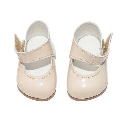Así doll Complements 36 to 40 cm - Beige shoes for Guille, Koke and Nelly doll