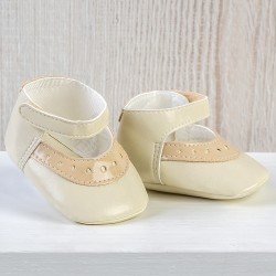 Así doll Complements 43 to 46 cm - Beige shoes for María, Pablo, Leo and Limited Series doll