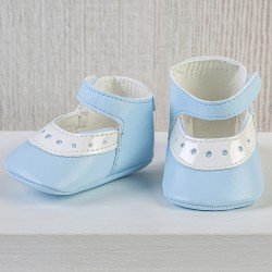 Así doll Complements 43 to 46 cm - Light-blue shoes for María, Pablo, Leo and Limited Series doll