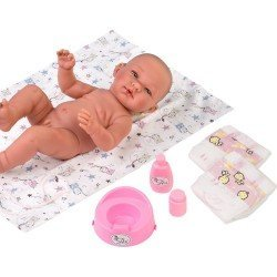 Así doll Complements 43 cm - Changing mat and accessories set